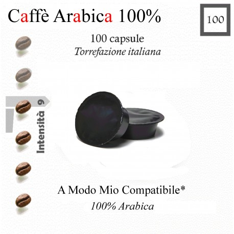 Coffee Essence of South, 100 capsules (compatible with Lavazza A Modo Mio *)