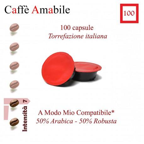 Confezione da 20 capsule A Modo Mio compatibili di caffè Essenza del Sud