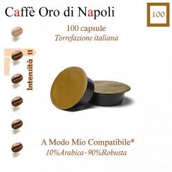 Confezione da 20 capsule A Modo Mio compatibili di caffè Guatemala Mon Amour