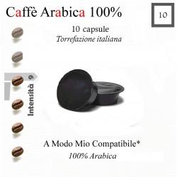 CAFFE' ARABICA 100% - 10 capsule (A Modo Mio compatibile*)
