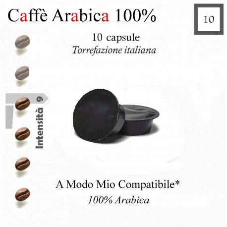 Caffè Arabica 100% compatibile A Modo Mio*