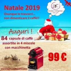 Offerta 26 euro. 120 capsule Espresso Point compatibili + conf. biscotti