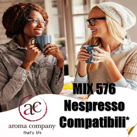 box 576 Nespresso compatibili, caffè Aroma Company