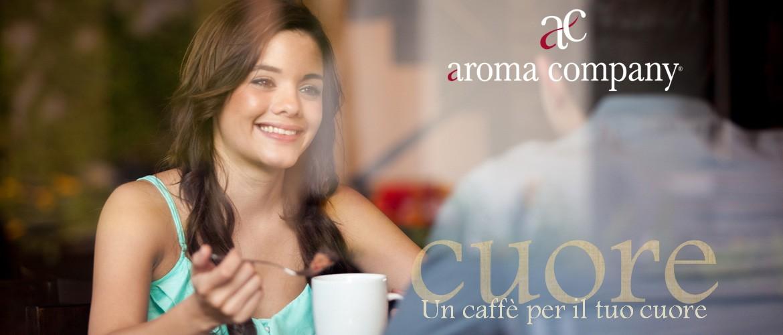 Aroma Company, un caffè per il tuo cuore