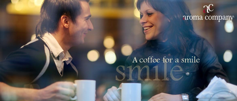 Aroma Company, un caffè per il tuo sorriso